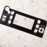 厂家定制 机械设备操作面板 亚克力丝印控制面板标牌制作