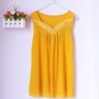韩版春装新款蕾丝吊带背心镶钻不显肚子宽松大码显瘦上衣打底衫