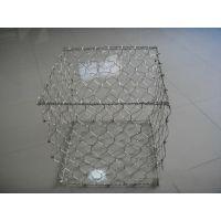 金豪公司供应山东铅丝石笼网箱,高尔凡石笼网垫 锌铝合金石笼网箱
