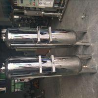 湛蓝纯Φ400*1800*1.5机械过滤器双面焊接不锈钢过滤罐 饮料 、食品杂质过滤