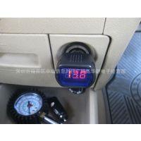 2015厂家现货供应外贸中性不带线车载电压计 数字式电压测量仪表