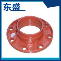 供应优质 高压合金红色304法兰 非标定制锻打平焊法兰 DN100