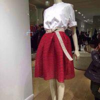 2015春夏款霍思燕明星同款高腰镂空网纱蓬蓬裙半身裙微信代理