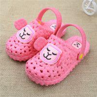 2015夏季新款可爱宝宝儿童拖鞋洞洞鞋软底防滑室内家居凉拖鞋批发