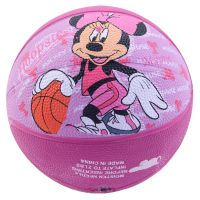 Disney 迪士尼正品 儿童 橡胶篮球 1号 1#篮球 DA1007-B米妮款