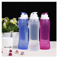 哪里可以定制创意礼品水壶和折叠礼品杯?硅胶折叠水瓶专业厂家