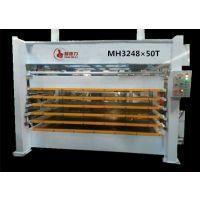 耀德力新款冷热两用 MH3248*50T多层液压式热压机