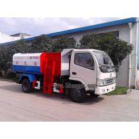 东风小型垃圾车挂桶式5方垃圾清运车价格