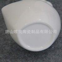 批发陶瓷勺子插座 骨质瓷筷子筒 创意造型勺子收纳 加logo定制餐