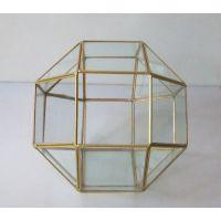 道之道高硼硅玻璃 几何体微景观工艺品双色