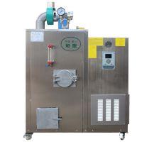 旭恩30KG生物质蒸汽锅炉发生器全自动中压双燃料蒸汽发生器不锈钢立式锅炉