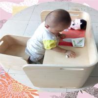 天然原木色弯曲木儿童成套桌椅,龙魁多层板写字桌定制,曲木加工