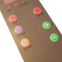 厂家批发定做各类PVC电器控制面贴设备薄膜开关鼓包面贴pvc磨砂