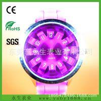 批发硅胶ICe手表 便宜礼品手表40mm 43mmice手表