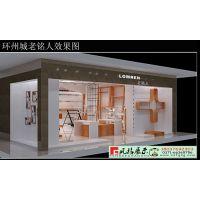 服装展柜设计定制 服装展柜生产厂家