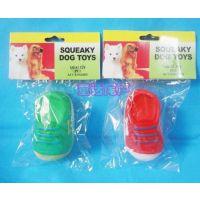 狗狗发声玩具  新奇特玩具 单鞋狗狗发声玩具 宠物最爱搪胶玩具