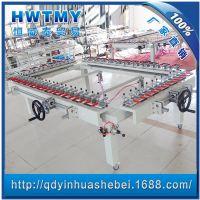 机械螺杆式拉网机,机械式拉网机,绷网机,气动拉网机气动绷网机