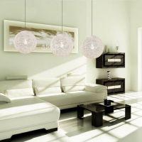 田园麻球灯藤艺 现代简约餐厅吊灯单头 创意卧室书房灯装饰灯具