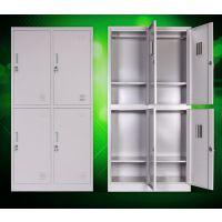厂家批发 四门更衣柜 员工更衣柜 铁制置物柜 铁皮储物柜