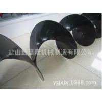嘉隆厂家直供带内管螺旋叶片 290-76-290环保机械专用螺旋杆