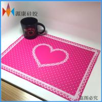 炫彩硅胶锅垫 欧式宜家防烫隔热垫餐桌防滑锅垫碗垫防水杯垫