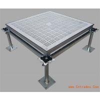 汇丽防静电地板 汇丽防静电铝合金通风地板