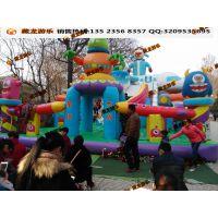 经济实惠的儿童充气乐园厂家 游乐玩具充气滑滑梯蹦床 打气汽包游乐场