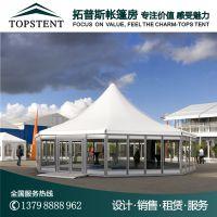 广州拓普斯临时玻璃展示篷房