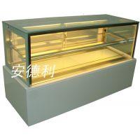 厂家直销安德利日式直角蛋糕柜 蛋糕冷藏展示柜 价格实惠