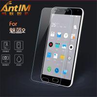 魅族魅蓝2钢化膜玻璃膜 厂家直销防指纹高清弧边手机保护贴膜5.0