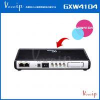 供应Grandstream GXW4104 IP桌面语音网关4FXO双网口限时促销