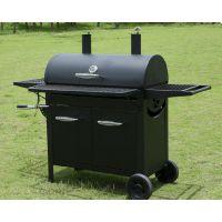加拿大A Blue-Cool冷轧双烟囱可调节木炭烧烤炉