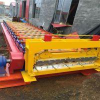 压瓦机 彩钢成型设备 水波纹850机器伟拓压瓦机厂供货
