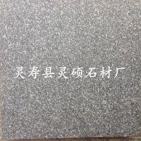 灵硕石材厂中国黑自然面 火烧面 荔枝面黑色 规格板批发