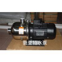 勃亚特不锈钢泵业厂家直供QDW型轻型多级不锈钢卧式泵