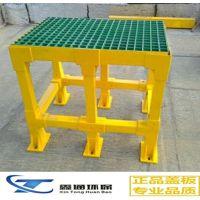 玻璃钢方管圆管玻璃钢格栅拉挤工业护栏连接管件型材