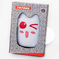 手机配件批发 表情龙猫移动电源超薄卡通迷你 新款龙猫6000充电宝