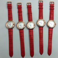 深圳手表工厂批发定做 高档女士防水手表 经典玫瑰金气球手表