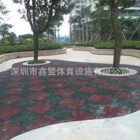 深圳厂家供应EPDM塑胶地垫儿童弹性地面 幼儿园地胶 安全防滑胶垫
