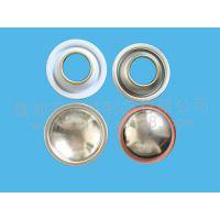 供应定做与加工65#52#70#各种型号规格的气雾罐配套盖子气雾罐盖