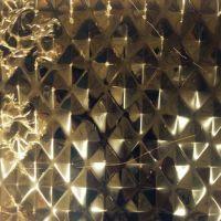 佛山定制各种不锈钢压花板镭射板材