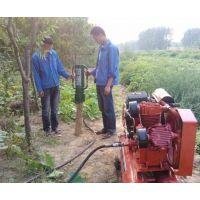 厂家直销便携式 液压木装机防洪打桩机
