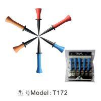 厂家直销凯盾高尔夫球tee 潮款高尔夫橡胶球钉T172 高品质高尔夫球托