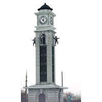 户外立钟 塔楼建筑大钟 金属钟身 康巴丝钟表kts-15