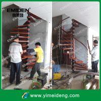供应厂家直销钢木旋转楼梯YMD-0727