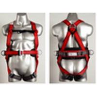 新疆佳琪风电攀爬交叉型全身式安全带、安全衣,油漆喷涂NO送风防毒面具