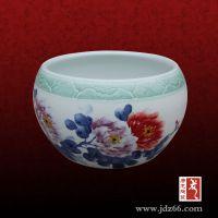 景德镇唐龙陶瓷小花缸价格,定做陶瓷缸,聚财风水缸
