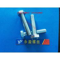 中山螺丝五金厂六角头螺丝M4-M42螺栓-上千规格任选-订做非标螺杆