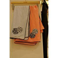 2015春季新款韩国东大门代购 进口女装批发 简约玫瑰花长围巾