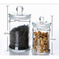 厂家直销 无铅加厚 玻璃茶叶罐 泡酒坛子 储物罐 杂粮瓶透明
